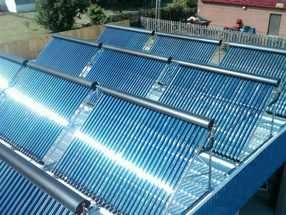 ACS con energía solar